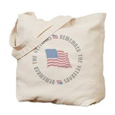 Remember the Veterans Tote Bag