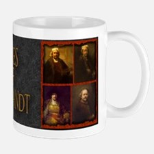 Faces of Rembrandt Mug
