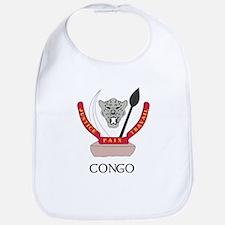 Congo Coat of Arms Bib
