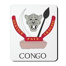 Congo Coat of Arms Mousepad