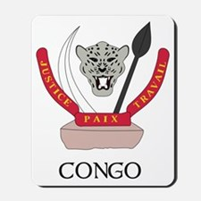 Congo Coat of Arms Mousepad