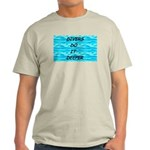 Divers Do It Deeper Ash Grey T-Shirt