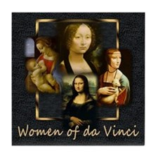 Women of da Vinci Tile Coaster