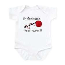 My Grandma is a Hooker Infant Bodysuit