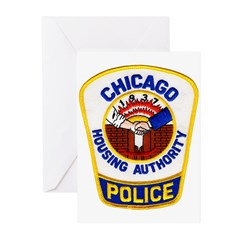 Chicago Housing PD Greeting Cards (Pk of 20)