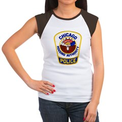 Chicago Housing PD Women's Cap Sleeve T-Shirt