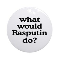 Rasputin Ornament (Round)