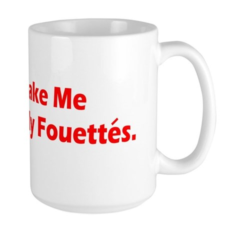 Fouettes Dancer Large Mug