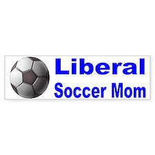 Liberal Soccer Mom Bumper Bumper Sticker