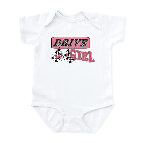 Drive Like A Girl Infant Bodysuit