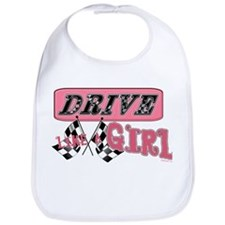 Drive Like A Girl Bib