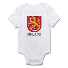 Finland Coat of Arms Infant Bodysuit