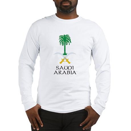 Saudi Arabia Coat of Arms Long Sleeve T-Shirt