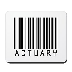 Actuary Barcode Mousepad