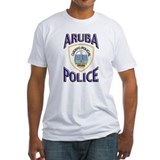 Aruba police Fitted Light T-Shirts