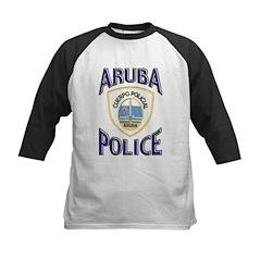 Aruba Police Kids Baseball Jersey