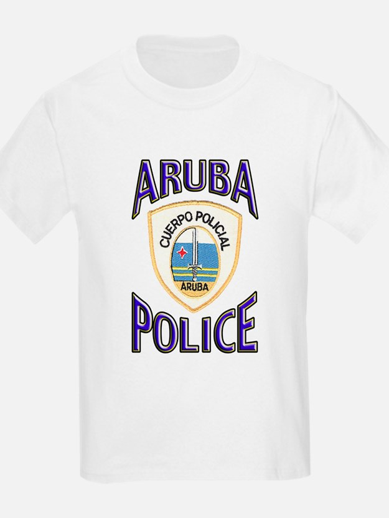 Aruba Police Kids T-Shirt