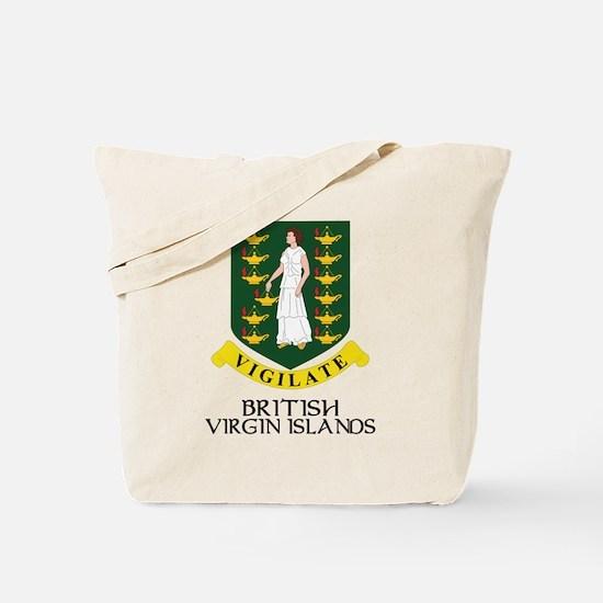 BVI Coat of Arms Tote Bag