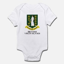 BVI Coat of Arms Infant Bodysuit