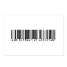 Admin Asst Barcode Postcards (Package of 8)
