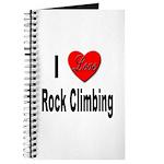 I Love Rock Climbing Journal