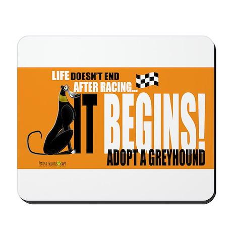 Life After Racing Mousepad