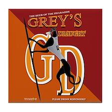Greys Draught Tile Coaster