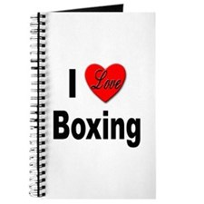 I Love Boxing Journal