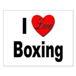 I Love Boxing Small Poster