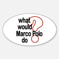 Marco Polo Oval Decal