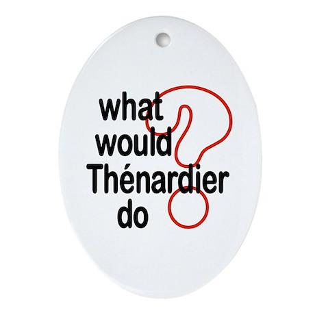Thénardier Oval Ornament