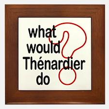 Thénardier Framed Tile