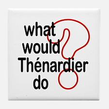 Thénardier Tile Coaster