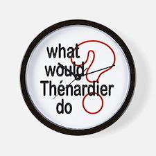 Thénardier Wall Clock