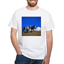 Horses under clear blue sky Shirt