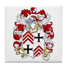 Langton Family Crest Tile Coaster