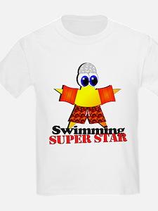 Swimming Super Star T-Shirt