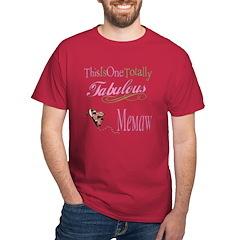Fabulous Memaw T-Shirt