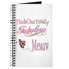 Fabulous Memaw Journal