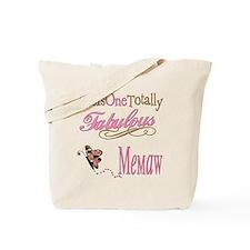 Fabulous Memaw Tote Bag