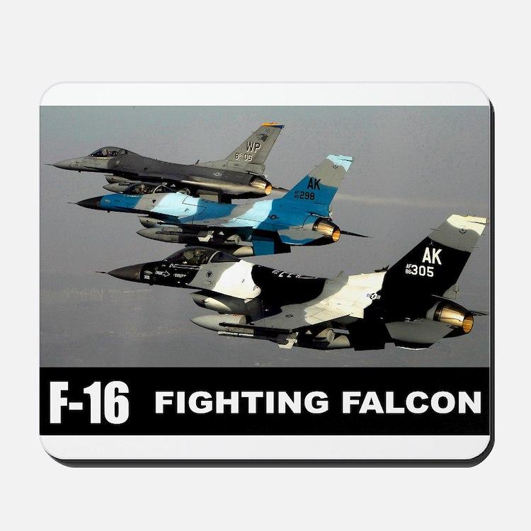 F-16 Falcon Fighter Mousepad