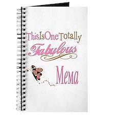Fabulous Mema Journal