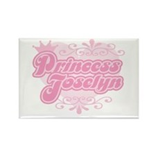 """Princess Joselyn"" Rectangle Magnet"