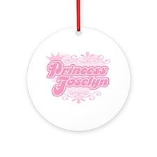 """Princess Joselyn"" Ornament (Round)"