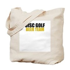 Disc Golf Beer Team Tote Bag