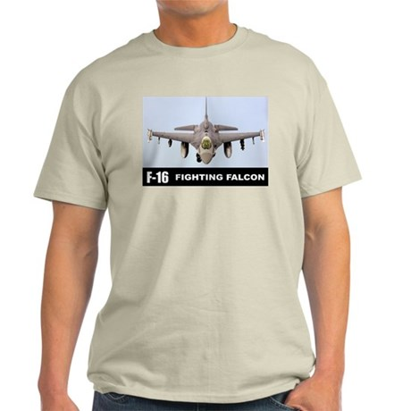 F-16 Falcon Fighter Light T-Shirt