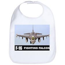 F-16 Falcon Fighter Bib
