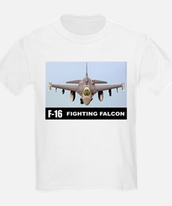 F-16 Falcon Fighter T-Shirt