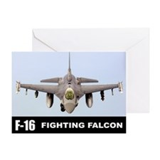 F-16 Falcon Fighter Greeting Card
