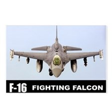 F-16 Falcon Fighter Postcards (Package of 8)